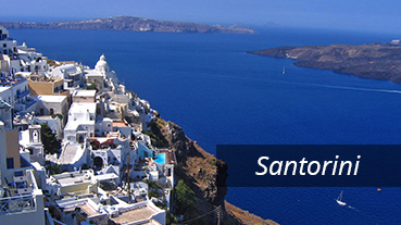 The Caldera in Santorini - Greece