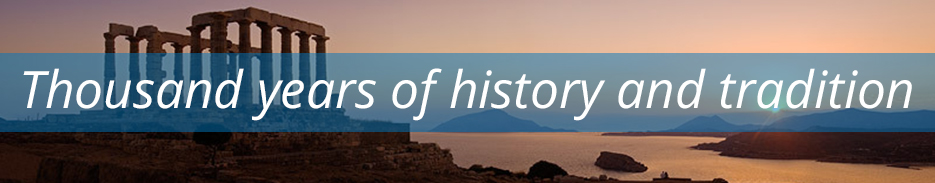 Thousand years of history and tradition - Greece